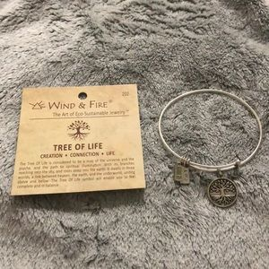 Tree of Life - Expandable Wind & Fire Bracelet
